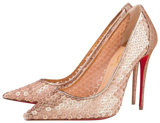 Preload https://img-static.tradesy.com/item/24507936/christian-louboutin-nude-lace-554-100mm-gold-sequin-cabaret-stiletto-pumps-size-eu-42-approx-us-12-r-0-1-540-540.jpg
