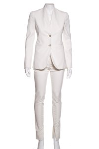 Gucci GUCCI Ivory Woven Pant Suit