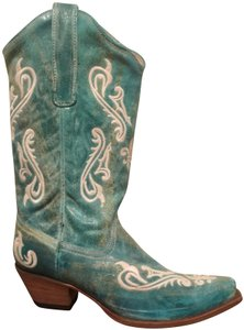 Corral Boots Cowboy Western Turquoise Boots