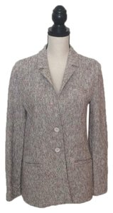 Amina Rubinacci Tweed Tweed-Yellow-Orange-Black-White Blazer