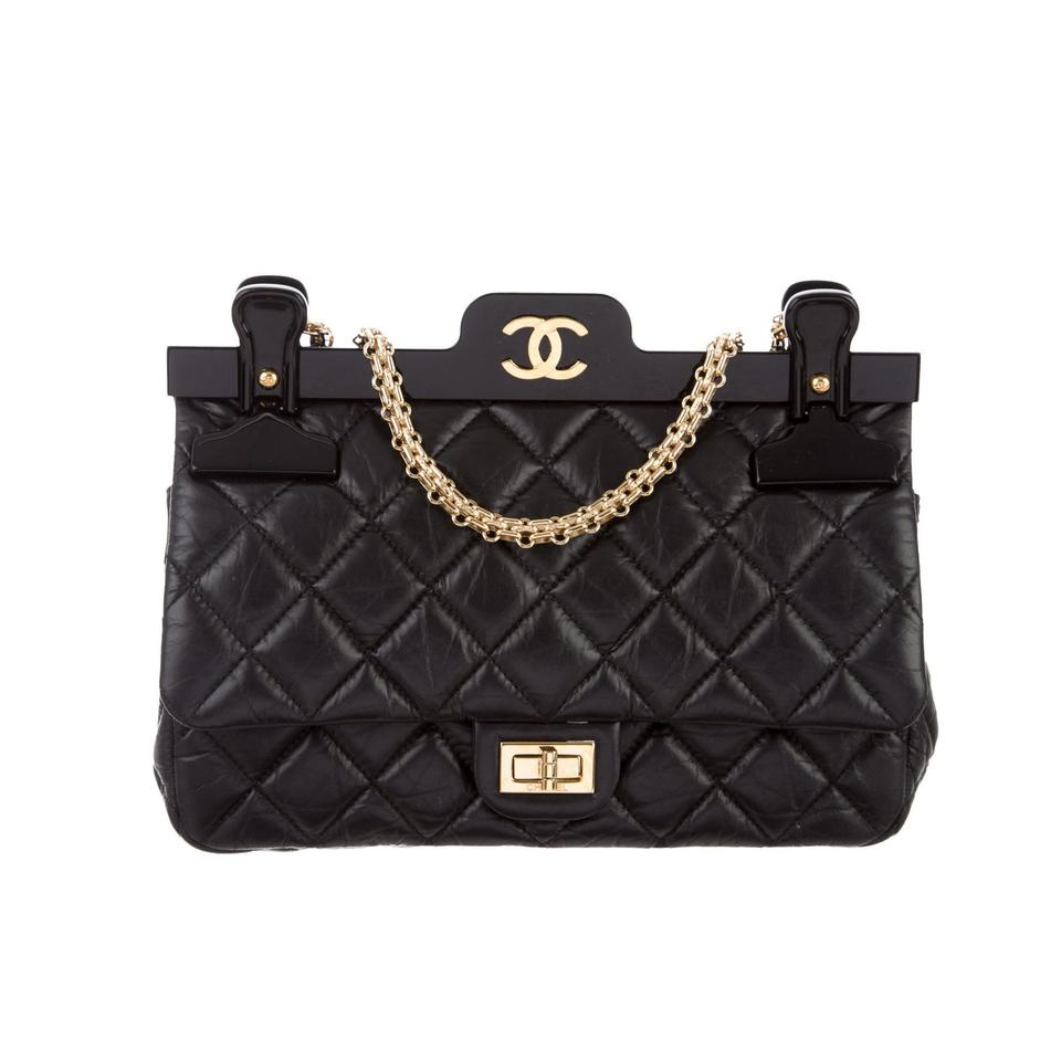 cf10c6cb2dde Chanel Classic Flap 2.55 Reissue Rare Hanger Large Limited Edition ...