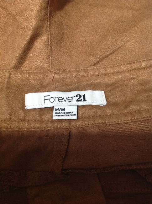 Forever 21 Mini/Short Shorts Brown Image 2