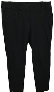 Ann Taylor Ankle Capri/Cropped Pants Black