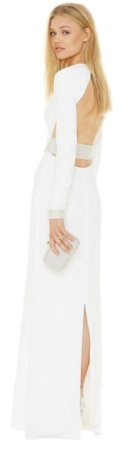 Preload https://img-static.tradesy.com/item/24508439/rachel-zoe-white-hewitt-crystal-embellished-cutout-back-gown-long-night-out-dress-size-4-s-0-1-650-650.jpg