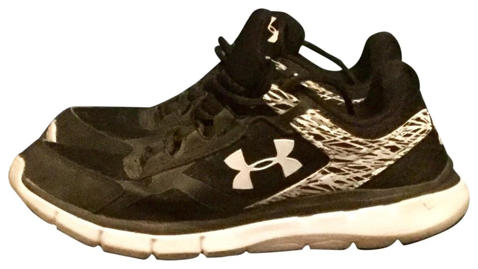 official photos 2a9d9 c5e80 Under Armour Black & White Women's Charged Bandit 2 Sneakers Size US 8  Regular (M, B) 55% off retail