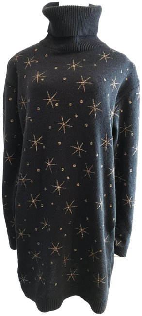 Preload https://img-static.tradesy.com/item/24508588/valentino-metallic-black-sweater-0-2-650-650.jpg