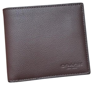 Coach coach men's Wallet With Gift Box. and tissue
