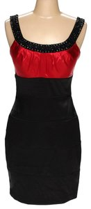 Bisou Bisou Beaded Collar Beaded Party Dress