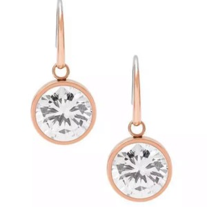Michael Kors Mk Rose Gold Earrings New In Box