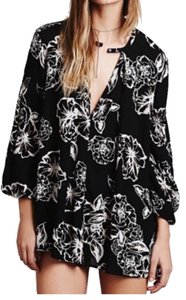 Free People short dress black and white on Tradesy
