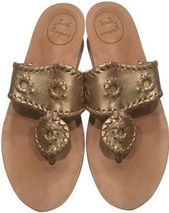 Jack Rogers Summer Platinum Sandals