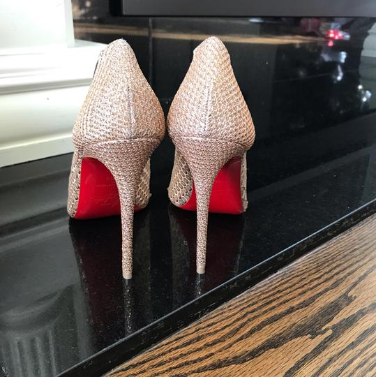 Christian Louboutin gold Pumps Image 5