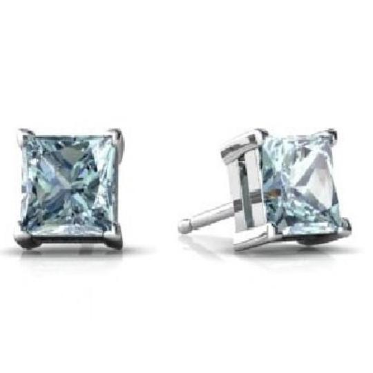 Preload https://img-static.tradesy.com/item/24508974/genuine-aquamarine-princess-cut-stud-925-sterling-silver-earrings-0-0-540-540.jpg