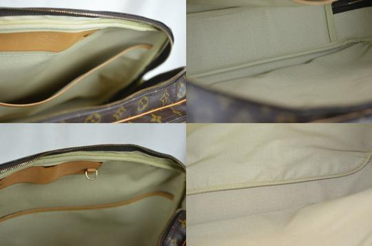 Louis Vuitton Alize Heures Tote in Brown Image 1