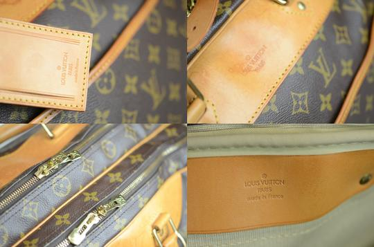 Louis Vuitton Alize Heures Tote in Brown Image 10