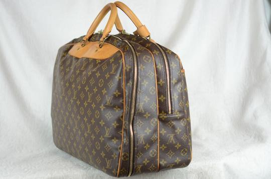 Louis Vuitton Alize Heures Tote in Brown Image 2