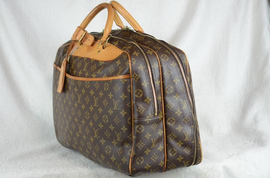 Louis Vuitton Alize Heures Tote in Brown Image 4