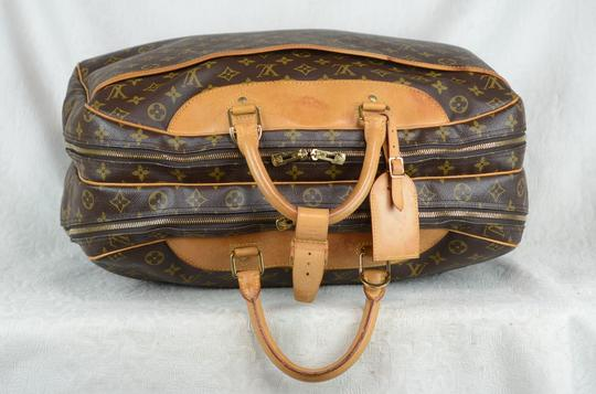 Louis Vuitton Alize Heures Tote in Brown Image 5