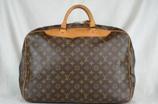 Louis Vuitton Alize Heures Tote in Brown Image 7