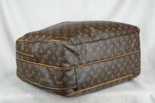 Louis Vuitton Alize Heures Tote in Brown Image 9