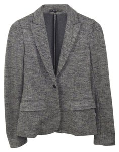 Theory Winter Fall Holiday Casual Comfortable Grey/White Blazer