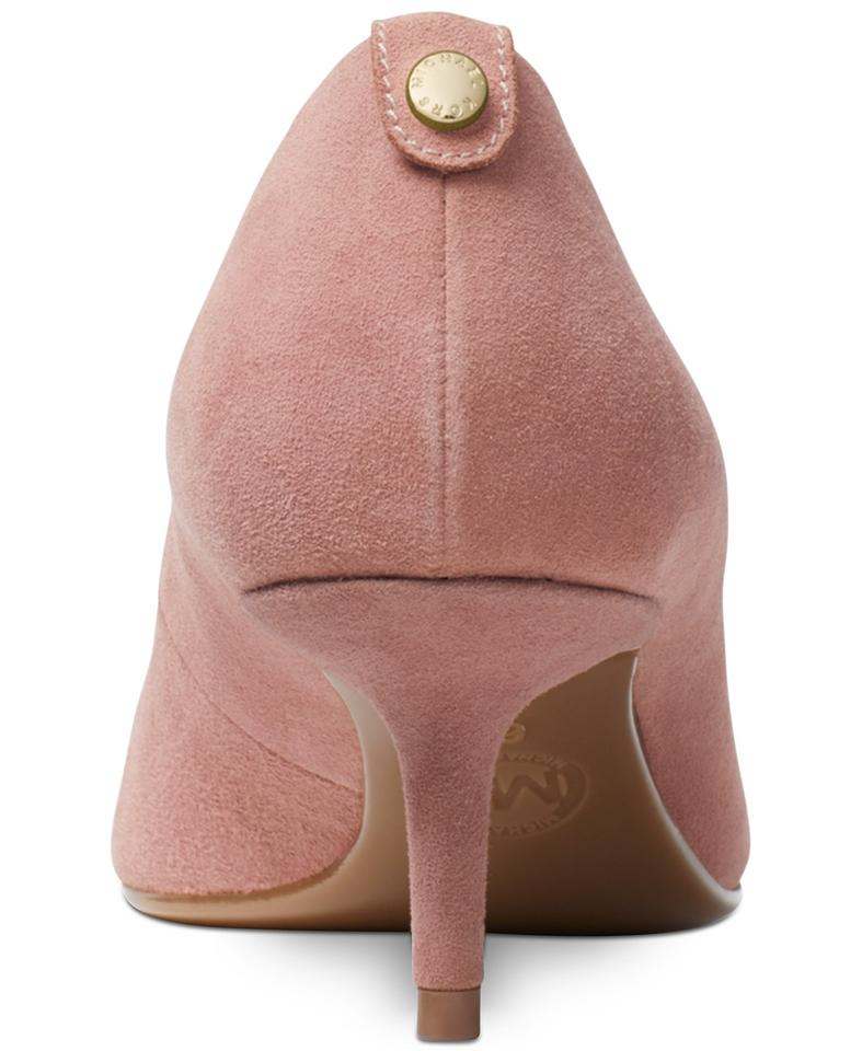 85ae5c87e19c MICHAEL Michael Kors Dusty Rose Mk-flex Suede Kitten Pumps Size US 8 ...