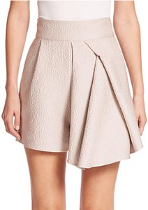 Tibi Chic Classic Dress Shorts Beige