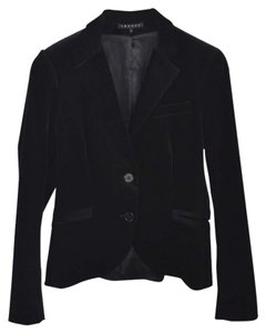 Theory Velvet Fall Winter Holiday Night Out Black Blazer