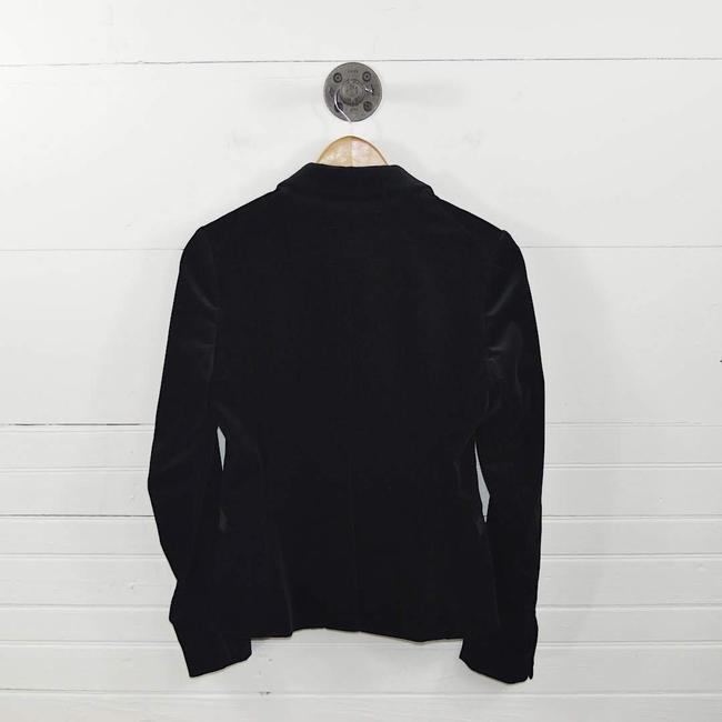 Theory Velvet Fall Winter Holiday Night Out Black Blazer Image 2