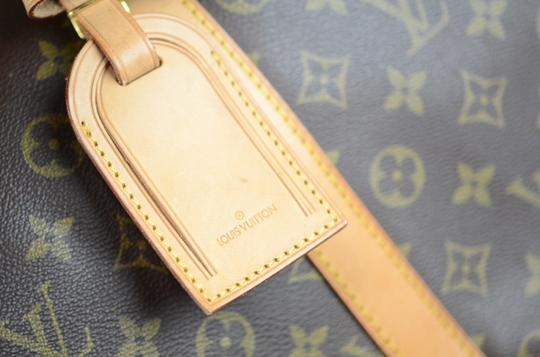 Louis Vuitton Keepall Monogram Canvas Tote in Brown Image 4