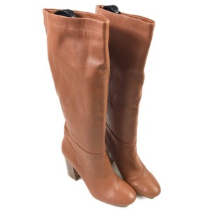 Kenneth Cole Leather Chestnut Boots