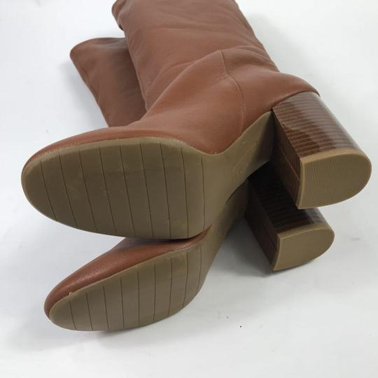 Kenneth Cole Leather Chestnut Boots Image 2