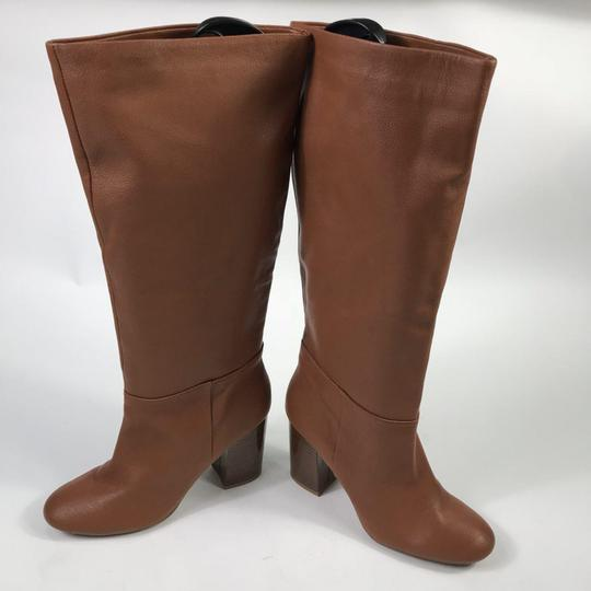 Kenneth Cole Leather Chestnut Boots Image 4
