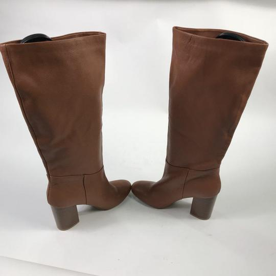 Kenneth Cole Leather Chestnut Boots Image 7