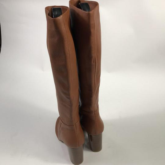 Kenneth Cole Leather Chestnut Boots Image 8
