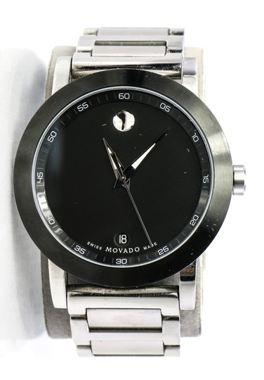 Preload https://img-static.tradesy.com/item/24509592/movado-stainless-steel-museum-mens-watch-0-0-540-540.jpg