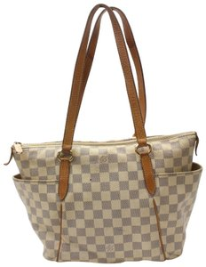 Louis Vuitton Neverfull Luco Vavin Babylone Tote in White