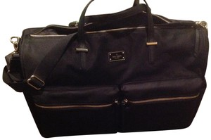 Kate Spade Nylon New With In Color Two Pocket Front Black Travel Bag
