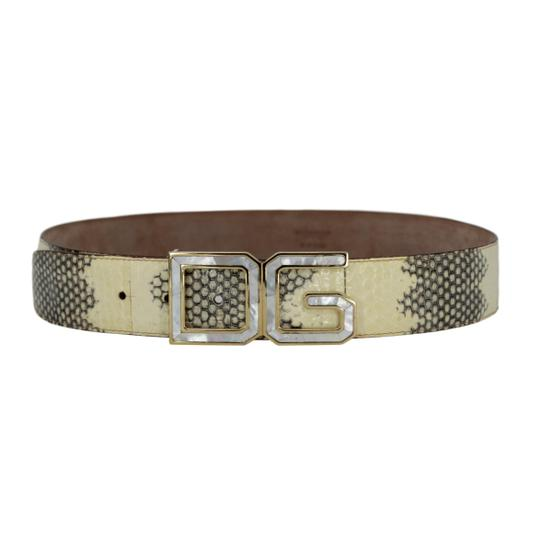 Preload https://img-static.tradesy.com/item/24509934/dolce-and-gabbana-ivory-and-grey-python-w-mother-of-pearl-dg-gold-tone-buckle-9036-belt-0-0-540-540.jpg