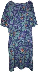 Lilly Pulitzer Floral Vacation Beaded Flirty Dress