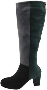Aquatalia Green/Grey/Black Boots
