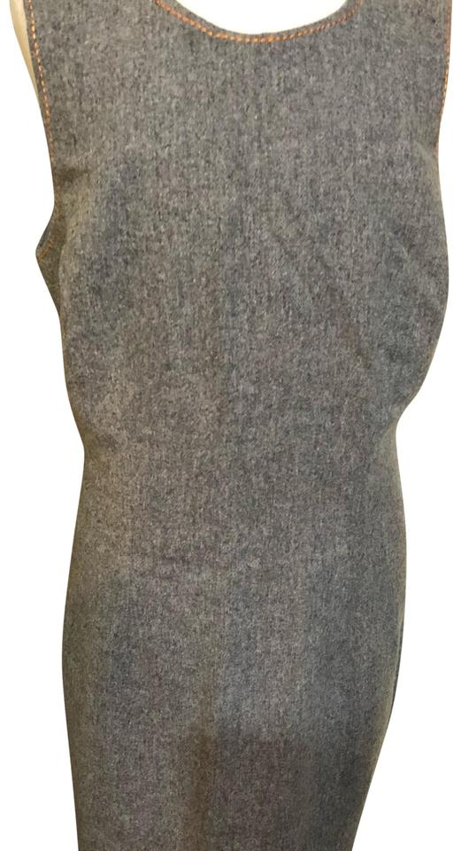 05b51cf394e8b4 Cynthia Rowley Grey Mid-length Short Casual Dress Size 10 (M) - Tradesy
