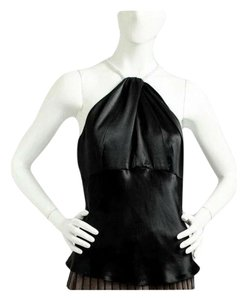 Peter Nygard Black Halter Top