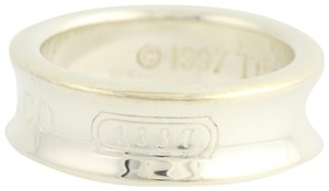 Tiffany & Co. Tiffany & Co 1837 Signature Collection Ring Sterling Silver Band N1472