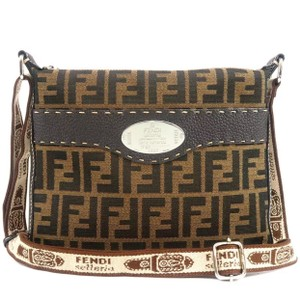Fendi Roma Zucca Louis Vuitton Cross Body Bag