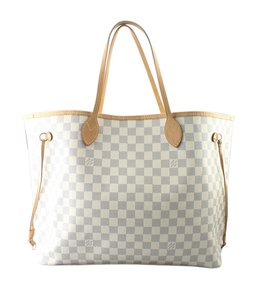 Louis Vuitton Xcoated Canvas Pre-owned Canvas Adult Tote in White