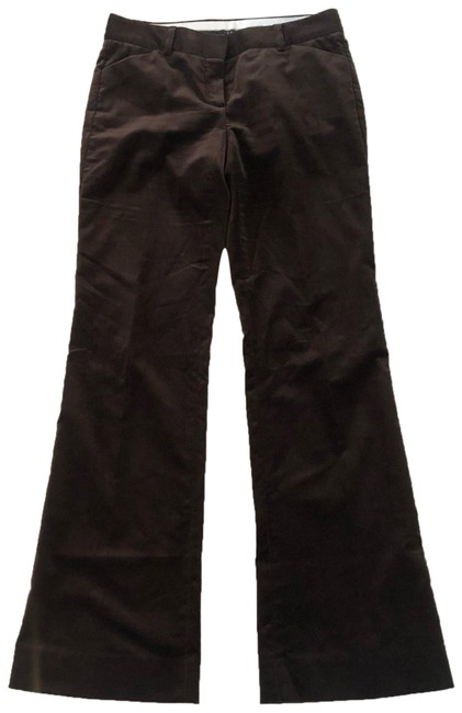 Item - Brown Velvet 98% Cotton Trouser Like New Pants Size 2 (XS, 26)