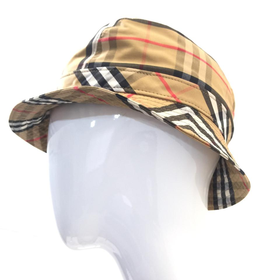 Burberry London Antique Yellow Vintage Check Bucket Medium Hat - Tradesy 402949231e8