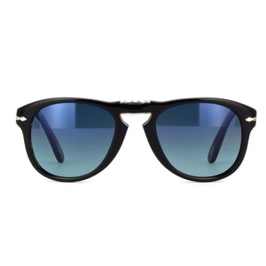 2f89a00258 Persol Black Special Edition Steve Mcqueen 714 Foldable Polarized ...