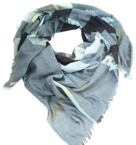 Burberry blue Relaxed Mega Check scarf